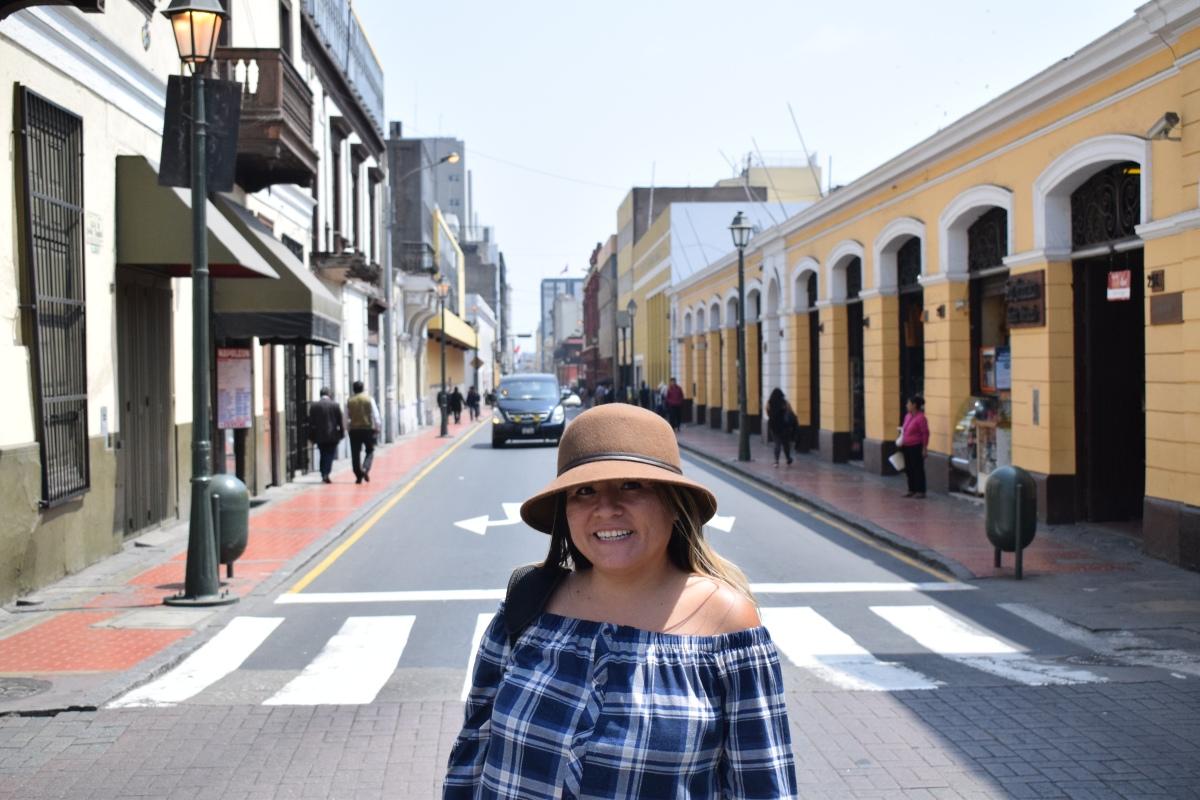 Hello Lima, Peru.