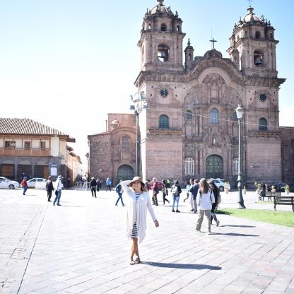 Plaza de Armas del Cusco.