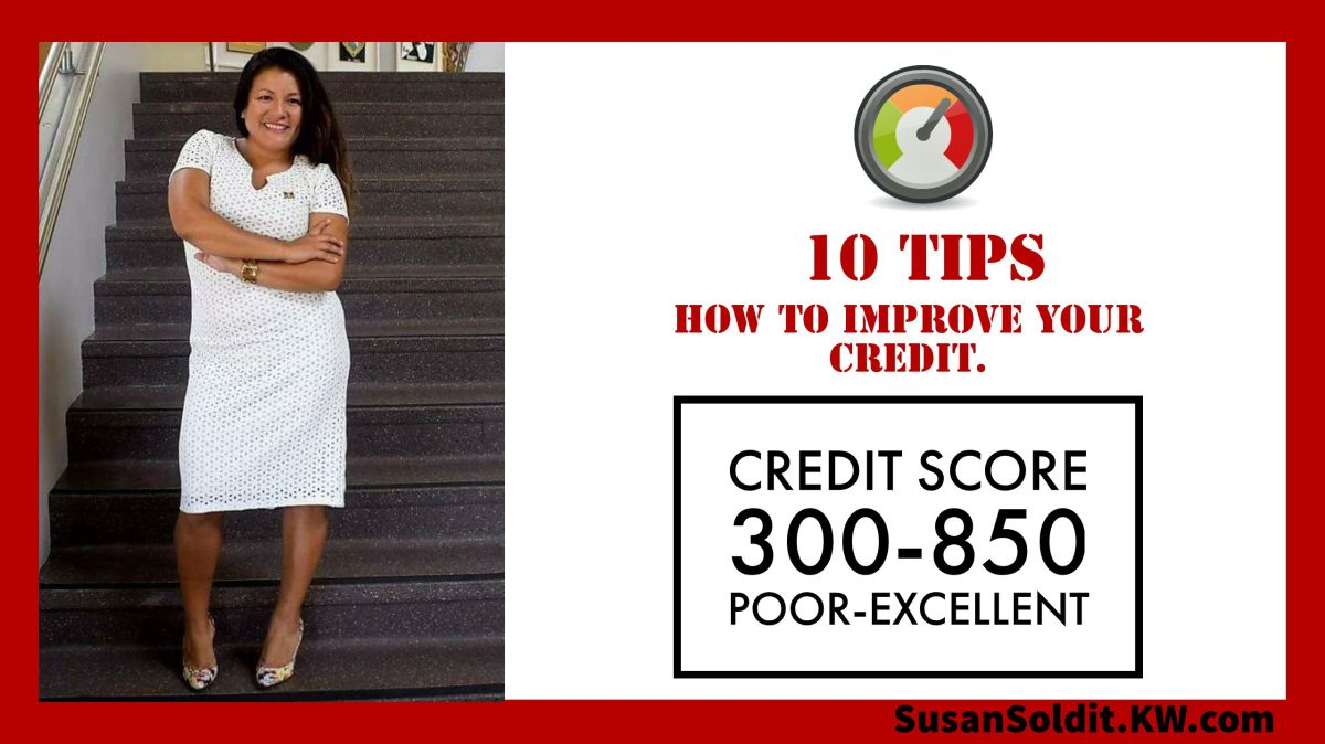 10 Tips to Improve your Credit.