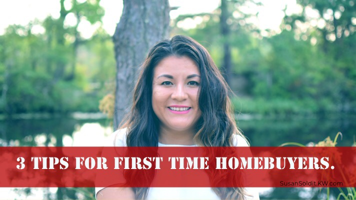 3 Tips For First Time Homebuyers.